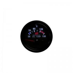 Reloj de medición de temperatura y presión del aceite para coche